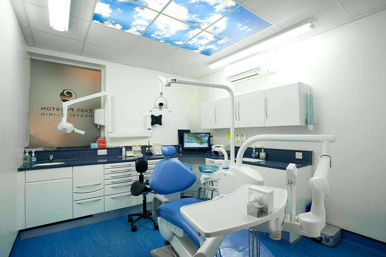 Treatment room at East Preston Dental Clinic