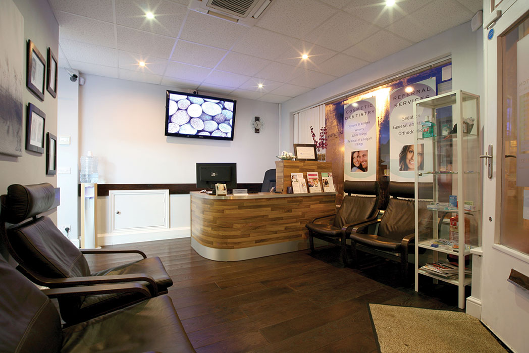 East preston Dental Clinic reception
